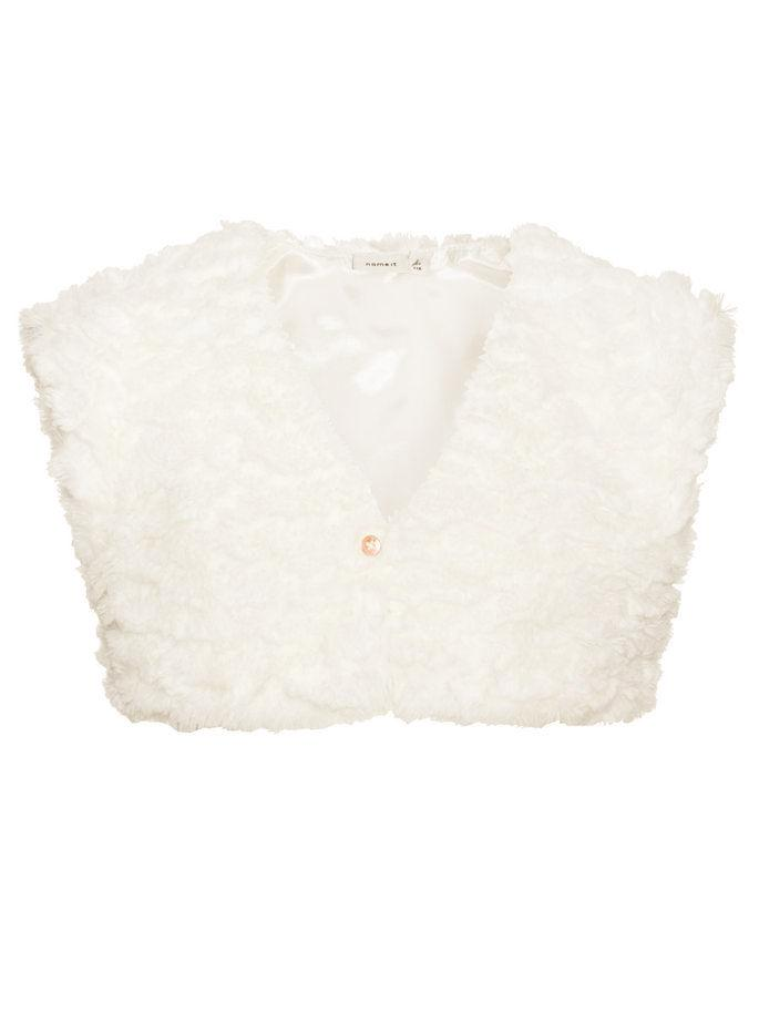 Name it Mini Girls Fake Fur Bolero Jacket
