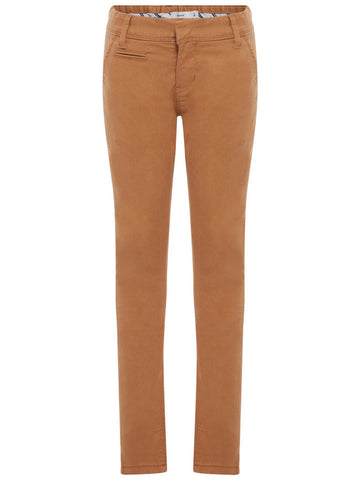 Name it Boys Regular Fit Brown Chino Pants BROWN SUGAR FRONT