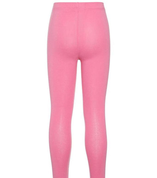 Name it Girls Solid Pink Capri Leggings BACK