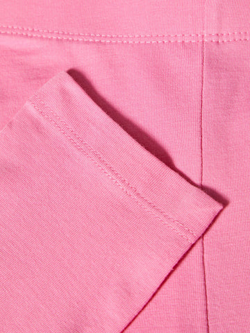 Name it Girls Solid Pink Capri Leggings CLOSE UP