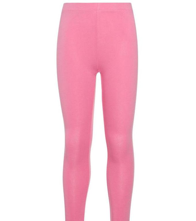 Name it Girls Solid Pink Capri Leggings FRONT
