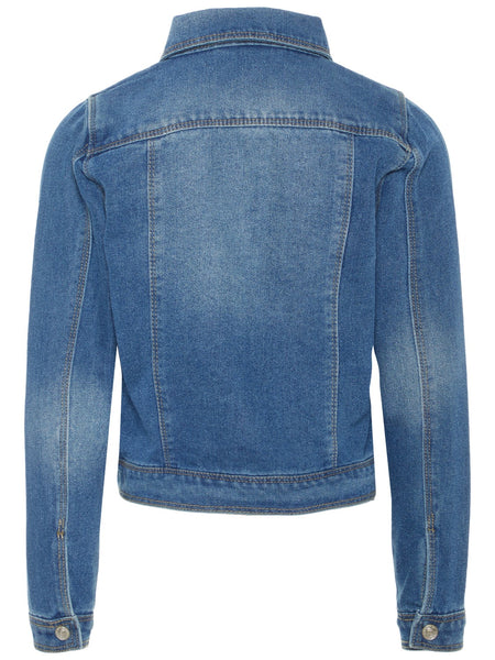Name it Girls Light Wash Denim Jacket