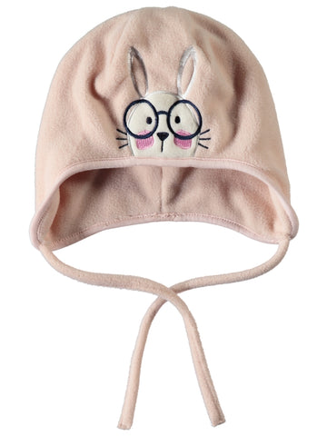 Name it Mini Girl Animal Hats with Drawstring EVENING SAND