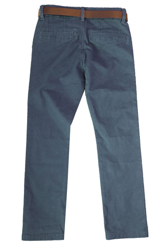 Name it Boys Twill Chino in Bistre & Vintage Indigo