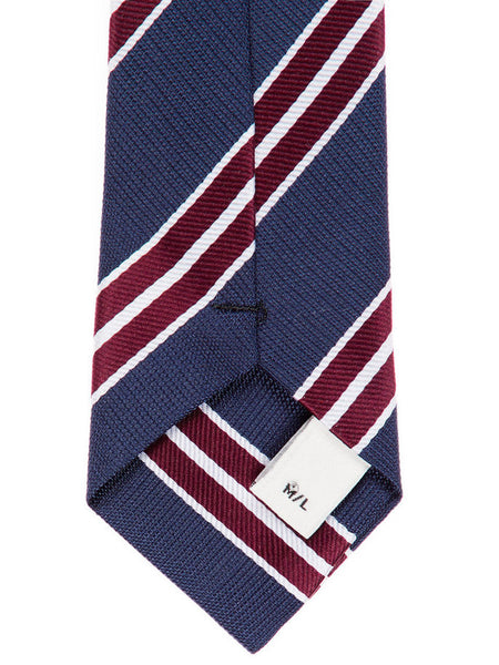 Name it Boys Navy Striped Tie close up