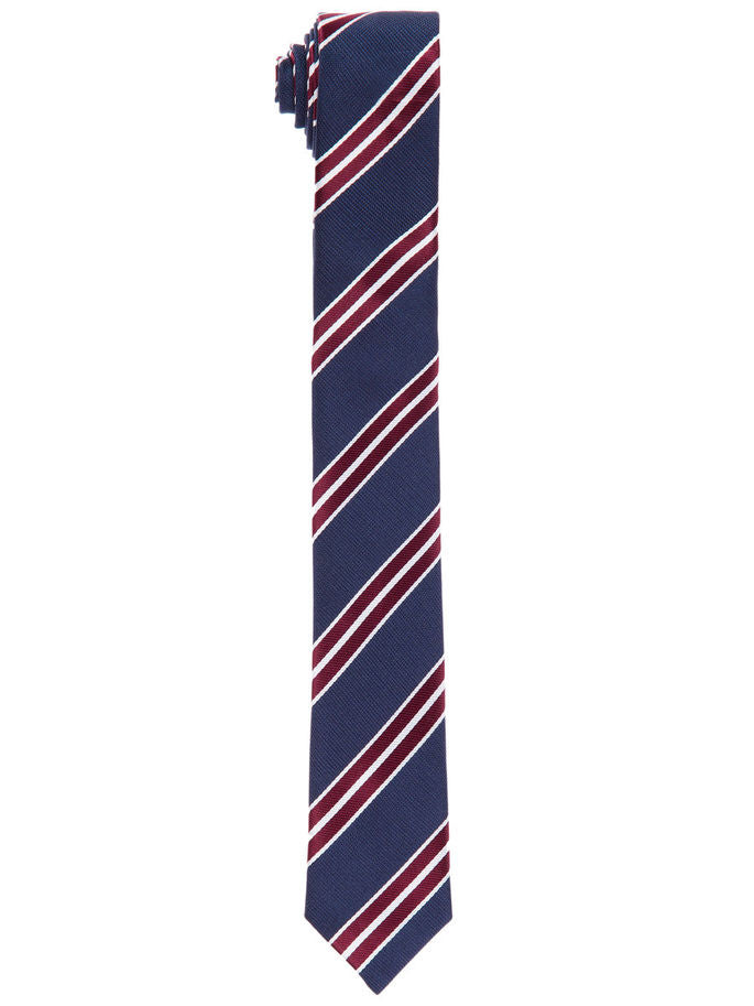 Name it Boys Navy Striped Tie front