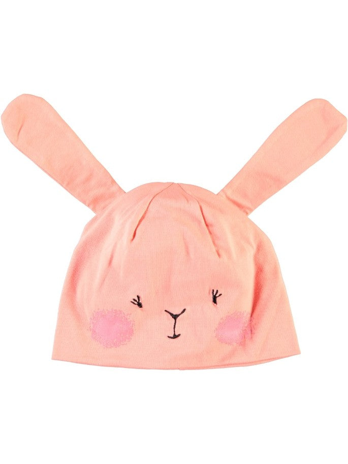 Name it Mini Girl Pink Bunny Hat with Ears