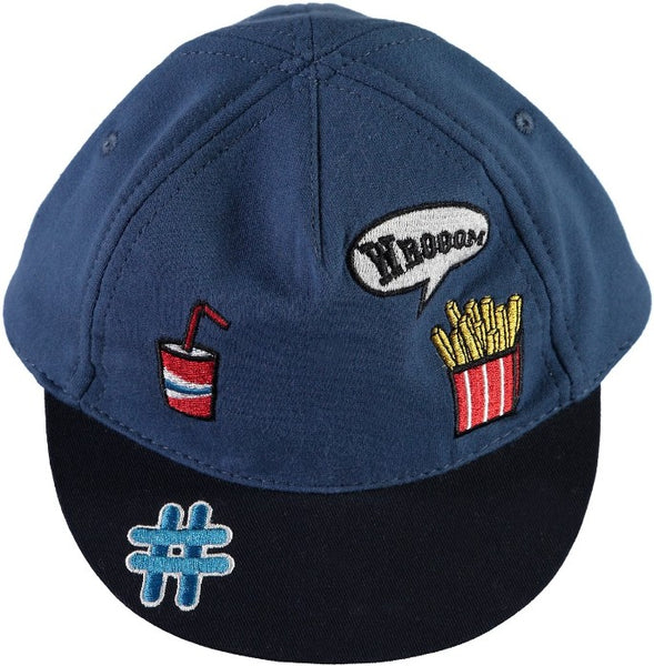 Name it Mini Boy Baseball Hats with Badges DELFT