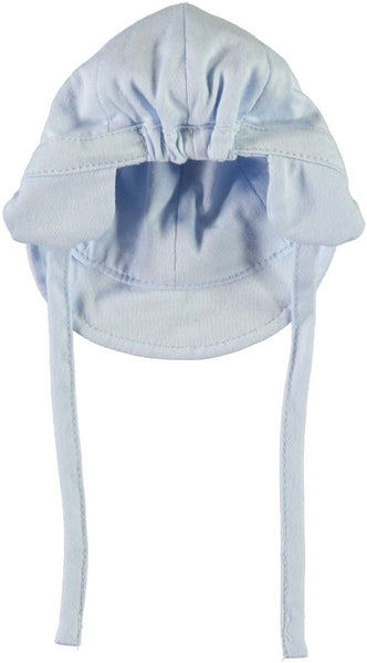Name it Baby Boy Blue Hat with Shade & Drawstring BACK