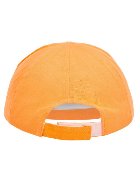 Name it Mini Boy Orange Tiger Cap with Mouth BACK