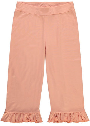 Name it Girls Light Pants with Frill Detail in Peach