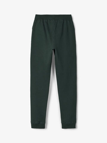Name it Boys Dark Green Sweat Bottoms