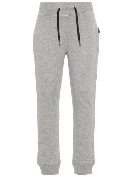 Name it Boys Solid Grey Sweat Pants FRONT