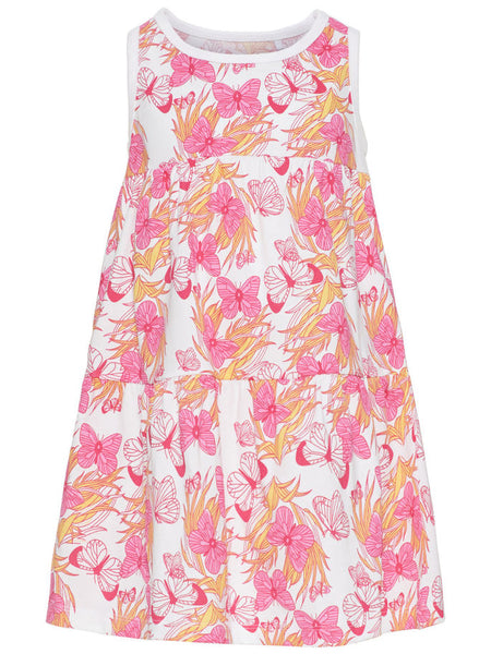 Name it Mini Girl Sleeveless Dress with Butterfly Print FRONT