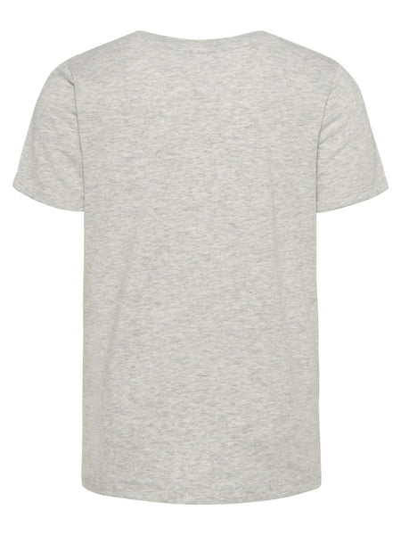 Name it Mini Boy Grey T-Shirt with Chest Pocket and Pug Motif BACK
