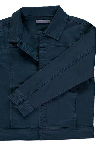 Boys Smart Twill Navy Jacket