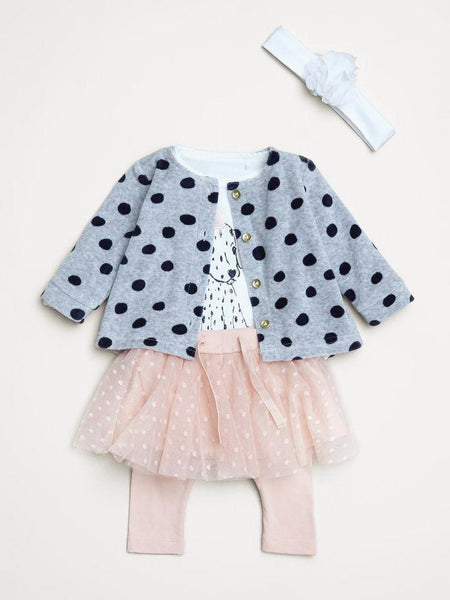 Name it Baby Girl Organic Cotton Tulle Skirt with Leggings ROSE CLOUD OUTFIT SUGGESTION
