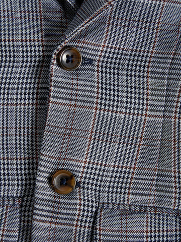 Name it Mini Boy Button Up Grey Blazer with Houndstooth Check Design BUTTONS