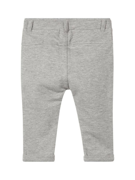 Name it Baby Boy Organic Cotton Sweat Pants in Solid Navy & Grey