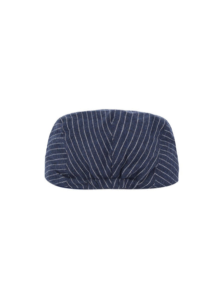 Name it Mini Boy Cotton Flat Cap in Navy BACK