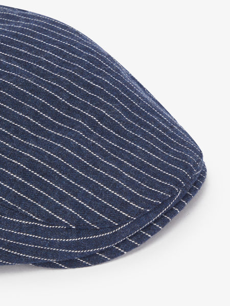 Name it Mini Boy Cotton Flat Cap in Navy CLOSE UP
