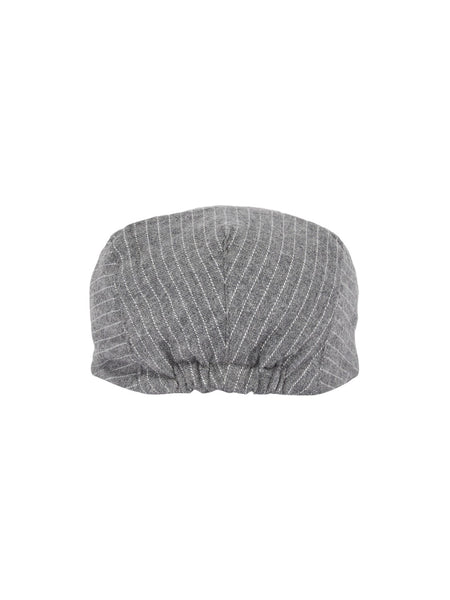 Name it Mini Boy Cotton Flat Cap in Grey BACK