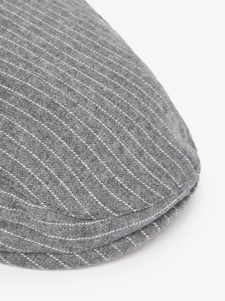 Name it Mini Boy Cotton Flat Cap in Grey CLOSE UP