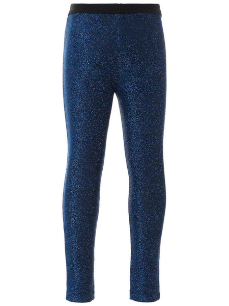 Name it Mini Girl Glitter Leggings in Navy BACK