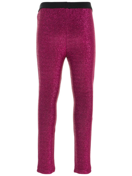 Name it Mini Girl Glitter Leggings in Pink BACK