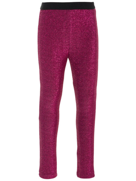 Name it Mini Girl Glitter Leggings in Pink FRONT