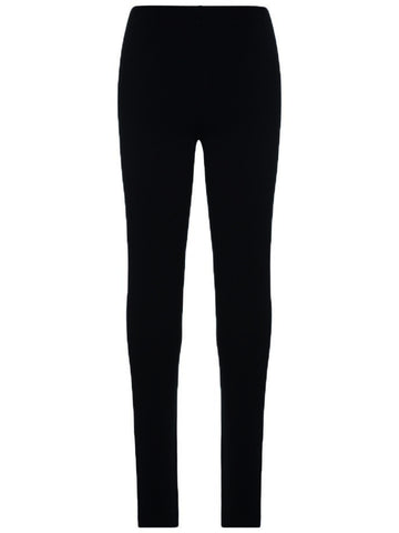 Name it Girls Black Organic Cotton Sweat Leggings