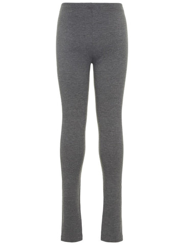 Name it Girls Dark Grey Organic Cotton Sweat Leggings