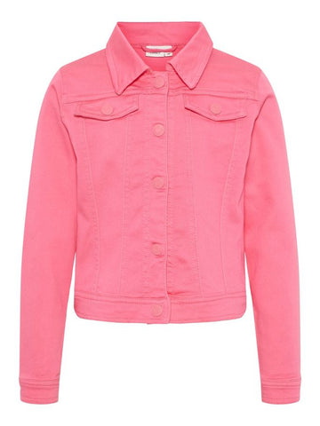 Name it Girls Pink Casual Jacket