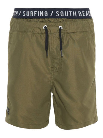 Name it Boys Ivy Green Swim Shorts