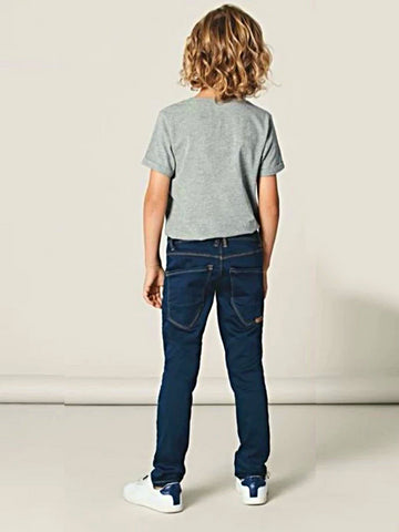 Name it Boys Regular Fit Dark Blue Denim Jeans