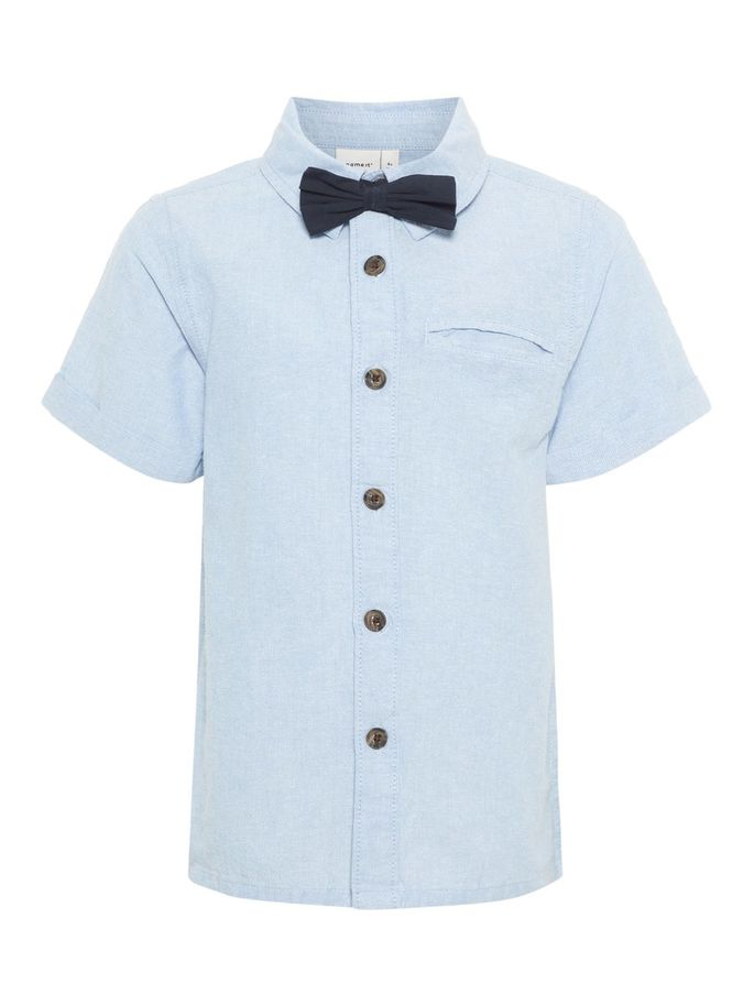 Name it Mini Boy Shirt with Removable Bow Tie