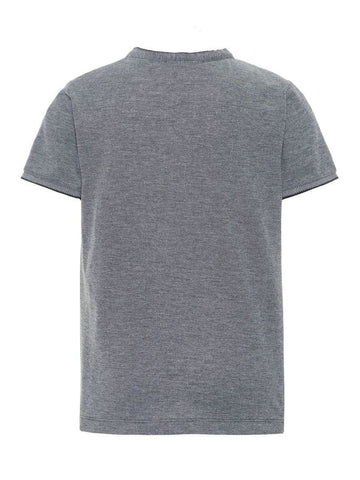 Name it Boys Short Sleeved Crew Neck Top