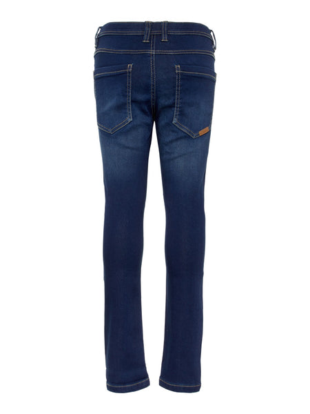 Name it Boys Blue Sweat Denim Jeans