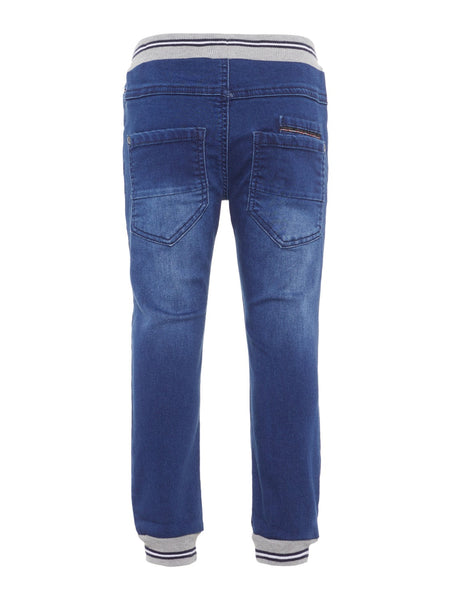 Name it Mini Boy Denim Jeans with Soft Top Adjustable Waist