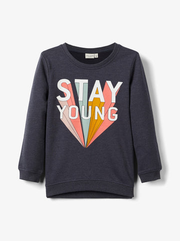 Name it Mini Girl Printed Sweatshirt