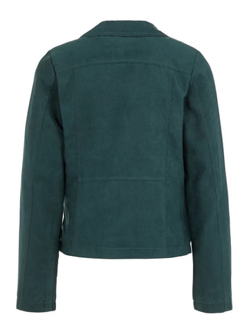 Name it Girls Faux Suede Biker Jacket