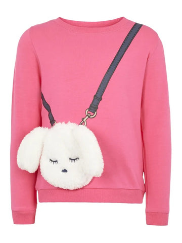 Name it Mini Girl Long Sleeved 3D Sweat Top