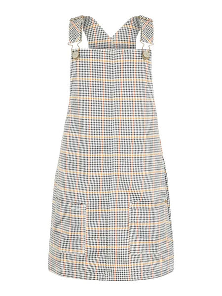 Name it Girls Checked Pinafore Dress