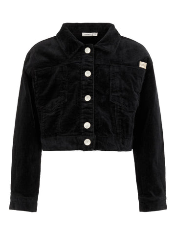 Name it Girls Black Cord Jacket