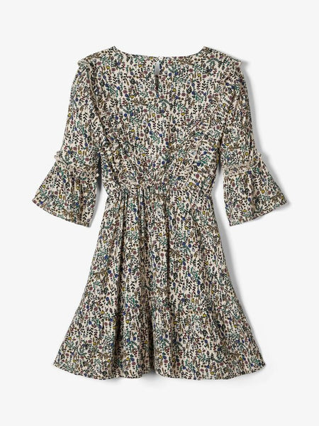 Name it Girls Pretty Floral Skater Style Dress
