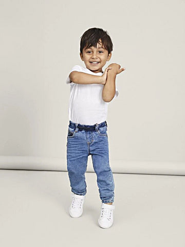 Name it Mini Boy Soft Elasticated Pull-Up Jeans