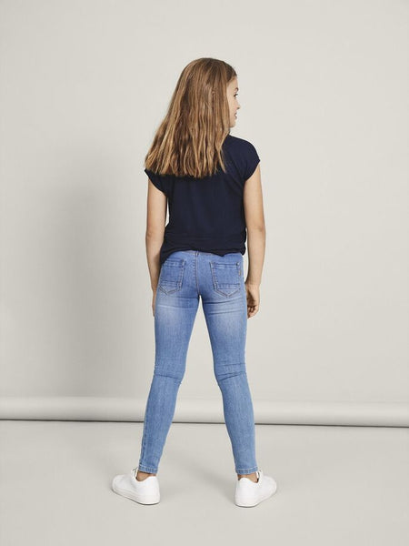 Name it Girls Medium Wash Skinny Jeans