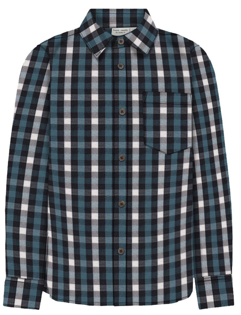 Name it Mini Boy Classic Check Blue Shirt