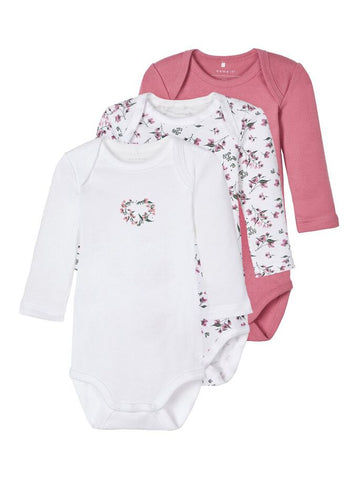 Name it Baby Girl 3-Pack Bodysuit / Vests