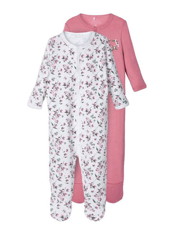 Name it Baby Girl 2-Pack Babygrows / Nightsuit